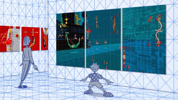 Projection du Tableau Variable de Pierre Clément à la Galerie Oblique dans Projections PETIT-MOUSEE-721